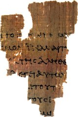 P52 The oldest NT manuscript we possess
