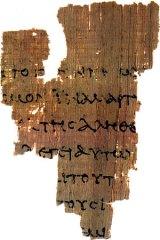 P52 The oldest NT manuscript we possess